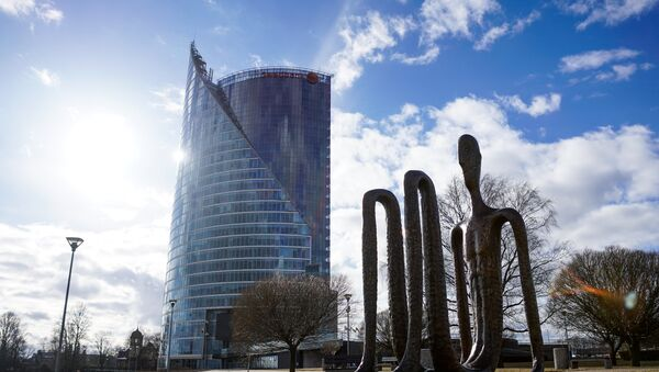 Солнечный камень - Офис Swedbanka - Sputnik Latvija