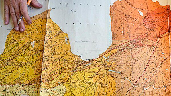 Kristāliskā fundamenta karte dažādos Rīgas rajonos - Sputnik Latvija