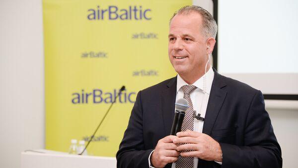 Aviokompānijas airBaltic izpilddirektors Martins Gauss - Sputnik Latvija