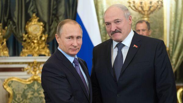 Российско-белорусские переговоры - Sputnik Латвия