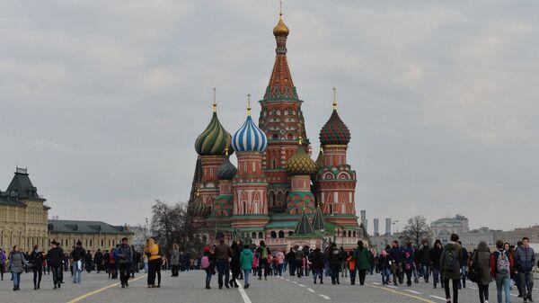 Красная площадь в Москве - Sputnik Латвия