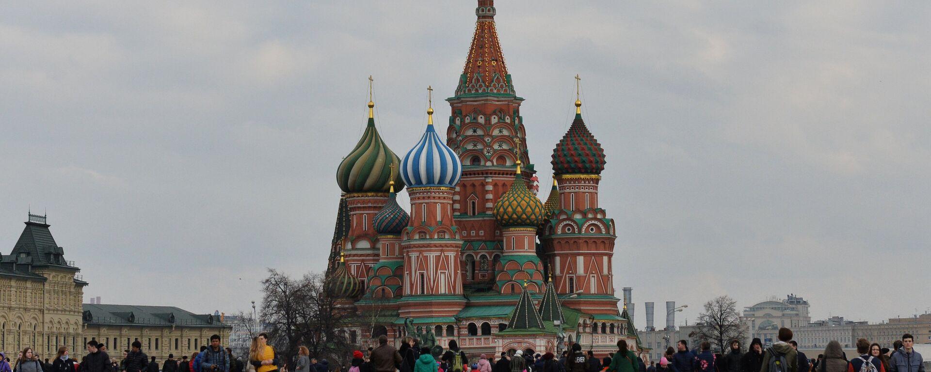 Красная площадь в Москве - Sputnik Латвия, 1920, 23.06.2021