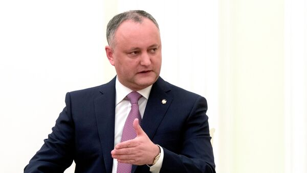 Президент Молдовы Игорь Додон - Sputnik Латвия