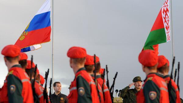 Российско-белорусские учения, архивное фото - Sputnik Latvija