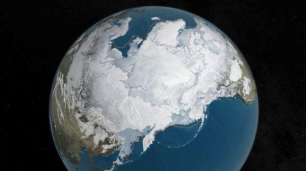 Zemes ainava no kosmiskās stacijas. Foto no arhīva - Sputnik Latvija
