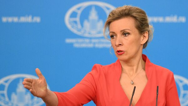 Официальный представитель МИД России Мария Захарова, архивное фото - Sputnik Латвия