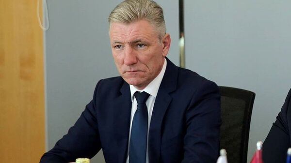 Глава погранслужбы Латвии Нормундс Гарбарс - Sputnik Latvija