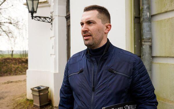 Марек Дамбис душа киногородка Синевилла - Sputnik Латвия