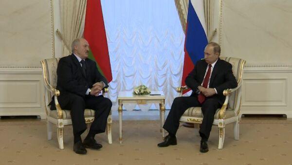Заявление Путина и Лукашенко в связи со взрывом в Петербурге - Sputnik Латвия