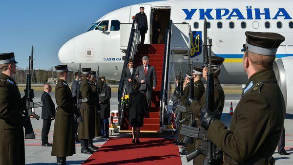 Официальный визит президента Украины Петра Порошенко в Латвийскую Республику - Sputnik Латвия