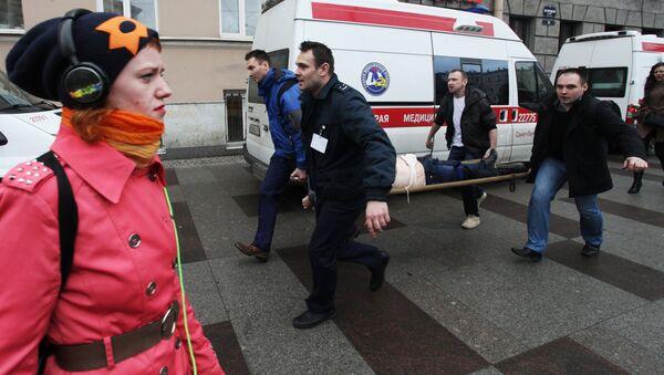 Взрыв в метро в Санкт-Петербурге - Sputnik Латвия