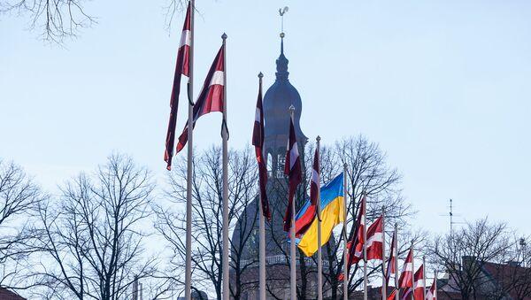 Визит президента Украины Петра Порошенко в Ригу - Sputnik Латвия