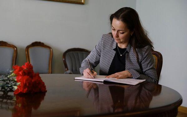 Ungārijas vēstniece Latvijā Adriena Millere - Sputnik Latvija