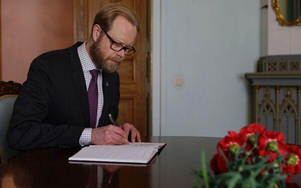 Somijas vēstnieks Latvijā Olli Kantanens - Sputnik Latvija