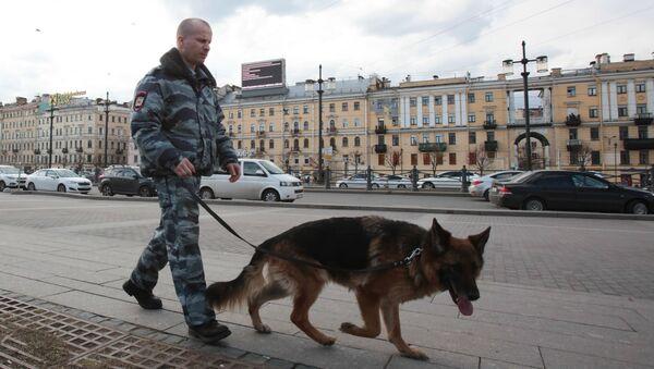 Усиление мер безопасности в Санкт-Петербурге - Sputnik Латвия