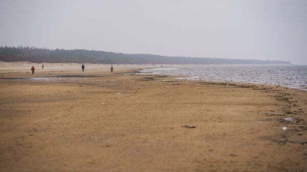 Пляж Вецаки - Sputnik Latvija