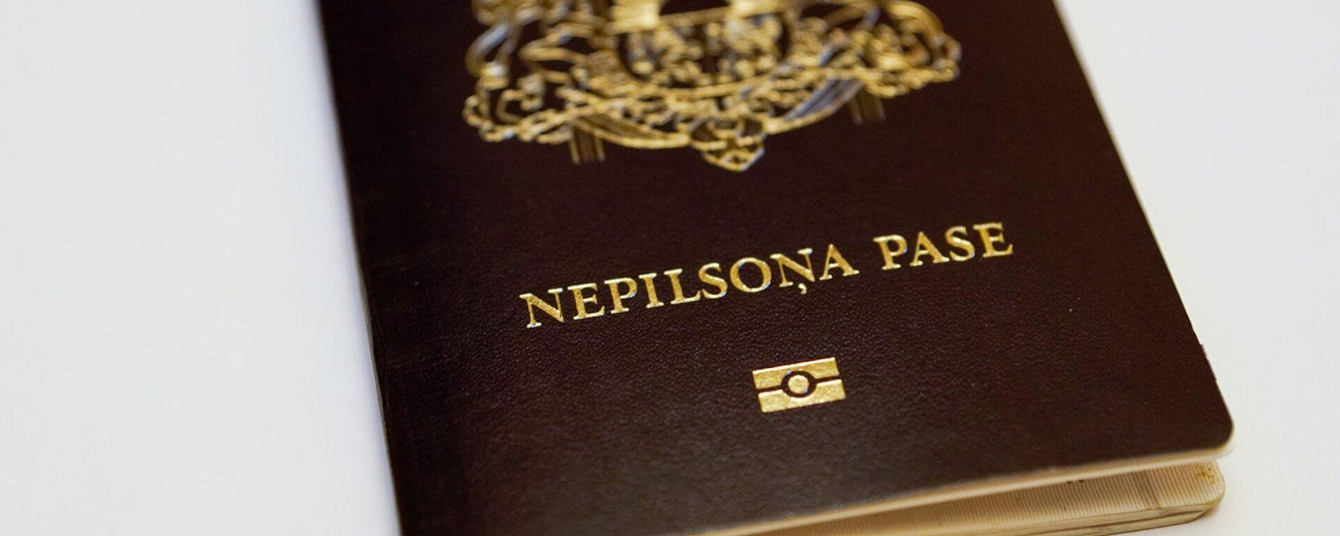 Паспорт негражданина Латвии - Sputnik Латвия, 1920, 10.09.2021