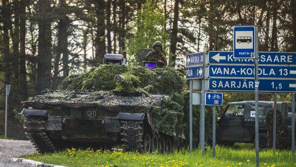 NATO mācībās Pavasara vētra Igaunijā - Sputnik Latvija