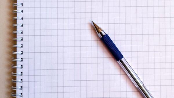 Ручка и тетрадь - Sputnik Латвия