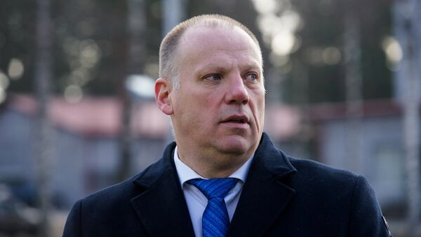 Министр обороны Латвии Раймонд Бергманис - Sputnik Латвия