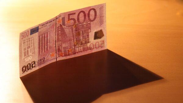 Купюра 500 евро - Sputnik Latvija