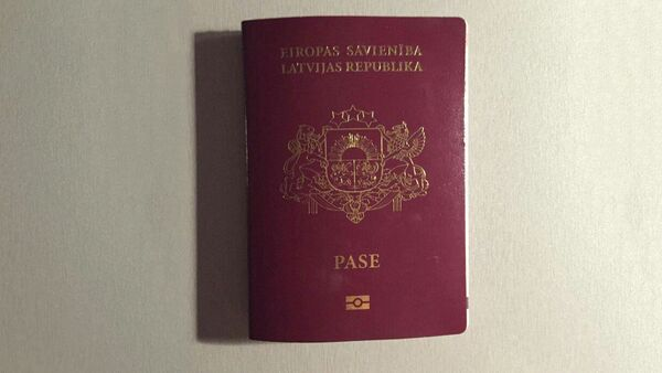 Паспорт гражданина Латвии - Sputnik Латвия