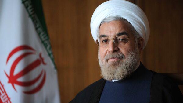 Президент Ирана Хасан Роухани - Sputnik Латвия