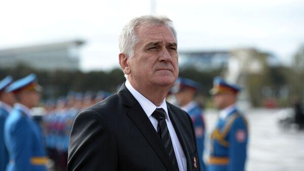 Президент Сербии Томислав Николич - Sputnik Latvija