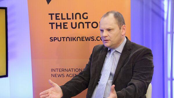 Депутат Рижской думы Руслан Панкратов - Sputnik Латвия