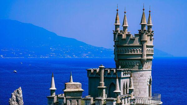 Крым, замок Ласточкино гнездо - Sputnik Latvija