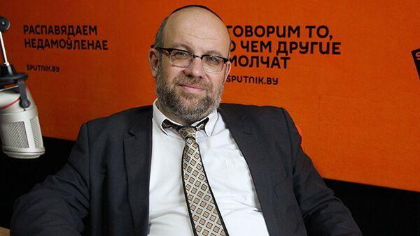 Главный раввин Иудейского религиозного объединения в Республике Беларусь Мордехай Райхинштейн - Sputnik Латвия