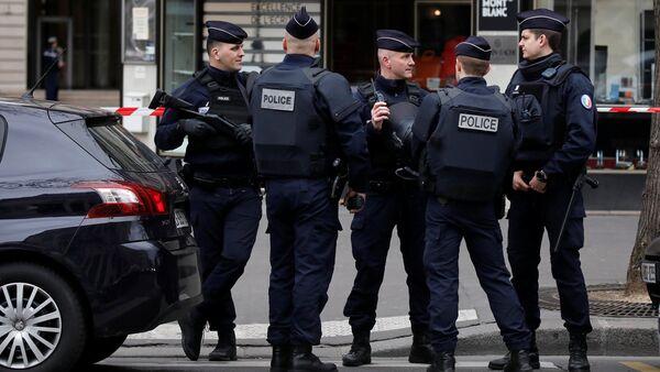 Французская полиция - Sputnik Latvija