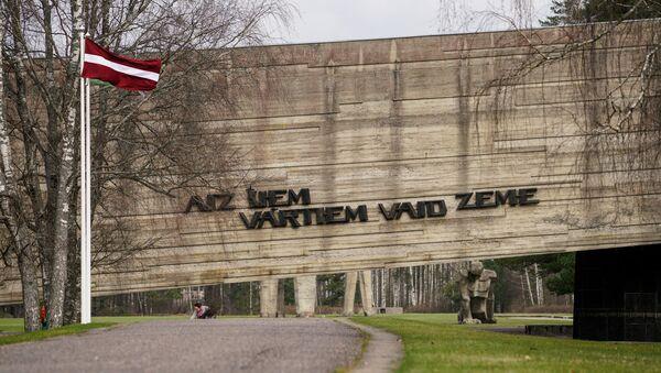Мемориальный комплекс Саласпилс - За этими воротами стонет земля - Sputnik Латвия
