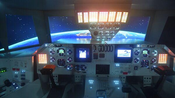 Приборная панель космического корабля Буран - Sputnik Латвия