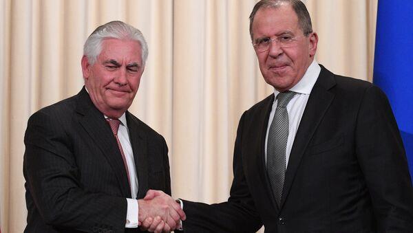 Valsts sekretārs Reks Tilersons tiksies ar ārlietu ministru Sergeju Lavrovu - Sputnik Latvija