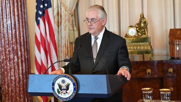 ASV valsts sekretārs Rekss Tilersons - Sputnik Latvija