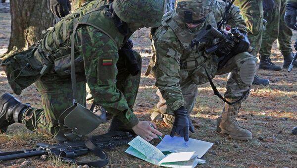 Военные учения в Литве - Sputnik Latvija