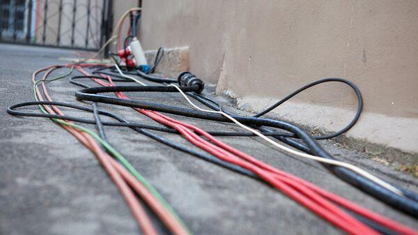 Электрические провода на улице - Sputnik Латвия