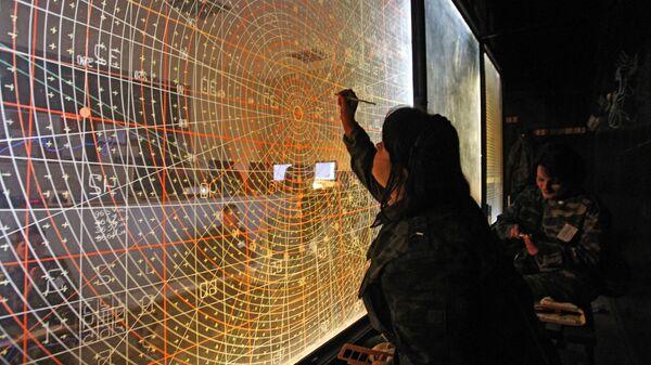 Pretgaisa aizsardzības sistēmas komandpunkts - Sputnik Latvija
