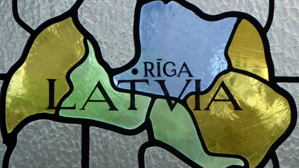 Витраж с картой Латвии - Sputnik Latvija