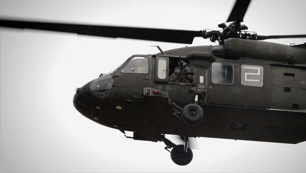 Учения вооруженных сил Воздушные Ястребы в мадонском крае - Sputnik Latvija