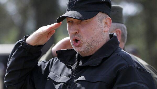 Секретарь Совета национальной безопасности и обороны Украины Александр Турчинов - Sputnik Latvija