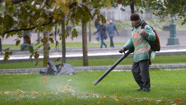 Komunālo dienestu darbinieks - Sputnik Latvija