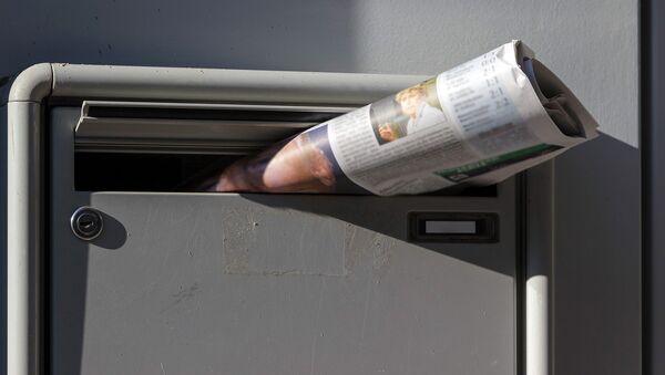 Газета в почтовом ящике - Sputnik Латвия