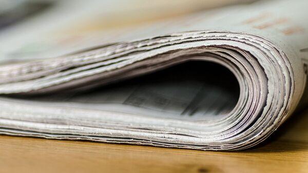 Газета на столе - Sputnik Латвия