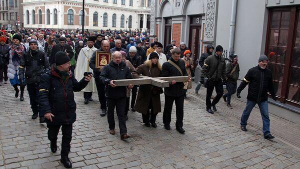 Экуменический крестный ход в Риге - Sputnik Латвия