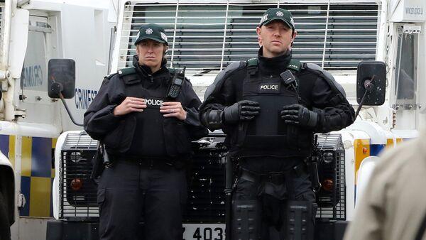 Полиция в Северной Ирландии - Sputnik Латвия