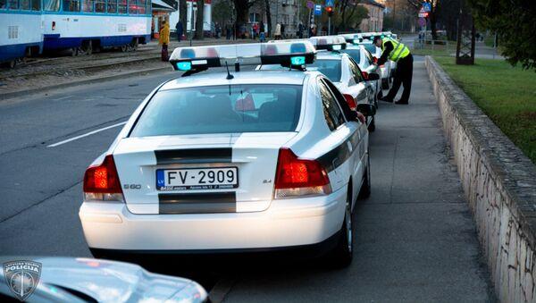 Полицейские Латвии - Sputnik Латвия