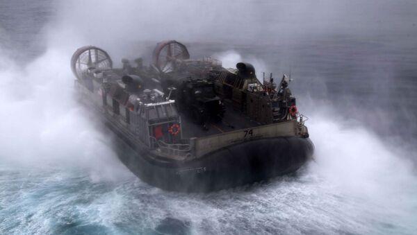 Амфибия американского флота на учения НАТО - Sputnik Latvija
