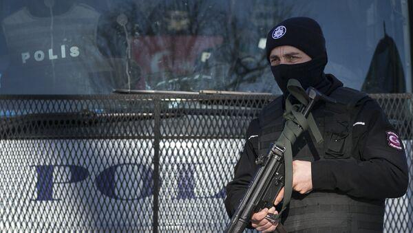 Полиция Стамбула - Sputnik Латвия
